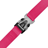 Edge Luggage Strap Nylon Neon Pink