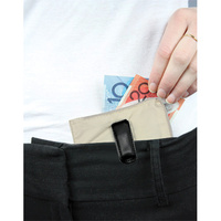 TBD Edge Money Pouch Clip Safe - TAN