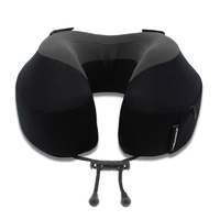 Cabeau Evolution S3 Memory Foam Travel Pillow - JET BLACK