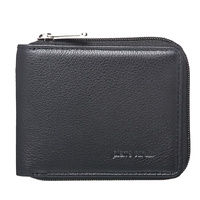 Pierre Cardin PC10344BK Mens Leather RFID Wallet - BLACK 828