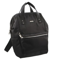 Pierre Cardin RFID PC2413 Backpack/ Tote Bag - BLACK