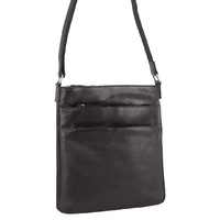 Milleni Ladies Nappa Leather Multi-Compartment Tote NL2439