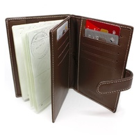 Numinous Leather RFID Blocking Passport Holder London (D)