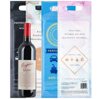 Wine Travel Bags -  Reusable  -  in multi-packs