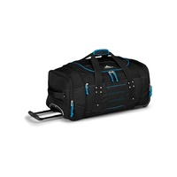 High Sierra  Composite Wheeled Duffel 66cm 63608-3059-Black/Blue