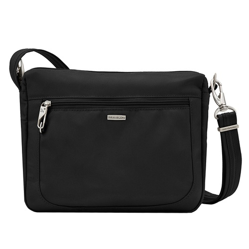 Travelon Classic Anti-Theft East/West Small Cross Body Bag