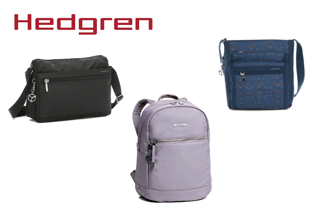 Hedgren Travel Bags - RFID Protection +